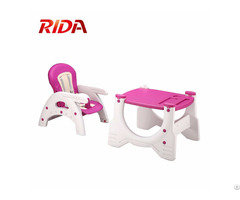 Wholesale Multifunction 3 In 1 Plastic Baby High Chair With Rocking