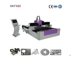 Ce Iso 500w 1000w Alloy Stainless Steel Fiber Laser Cutting Machine