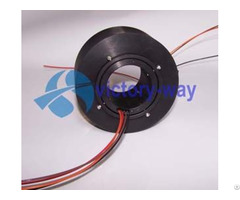 Customized Slip Ring Through Hole With Gold Contacts