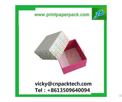 Custom Printed Hat Rigid Cardboard Gift Flower Candy Cake Boxes Jewelry Cosmetic Packaging