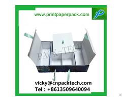Customized Ribbon Foldable Jewelry Chocolate Cosmetic Candy Cardboard Christmas Gift Box