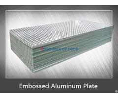 Embossed Aluminum Plate