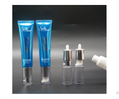 Cosmetic Bb Cream Packaging Plastic Tube With Airless Pump