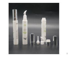 Ldpe Cosmetic Soft Eye Cream Tube With Ceramic Head