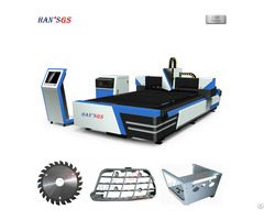 1500w Metal Laser Cutting Machine Water Cooling