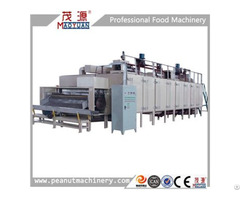 Stainless Steel Continuous Nut Roaster Peanut Baking Machine Roasting Oven