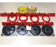 Air Casters With Six Or Four Modular