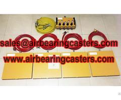 Air Bearing Casters Six Modular