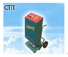 Cm05 06 Trolley Type Refrigerant Recovery Vacuum Recharge Machine