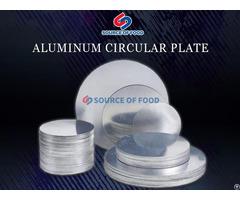 Aluminum Circular Plate
