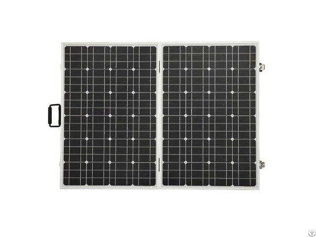 120w 12v Foldable Monocrystalline Solar Panel With Pre Installed 15a Charge Controller