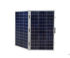 120w 12v Portable Polycrystalline Folding Solar Panel Kit