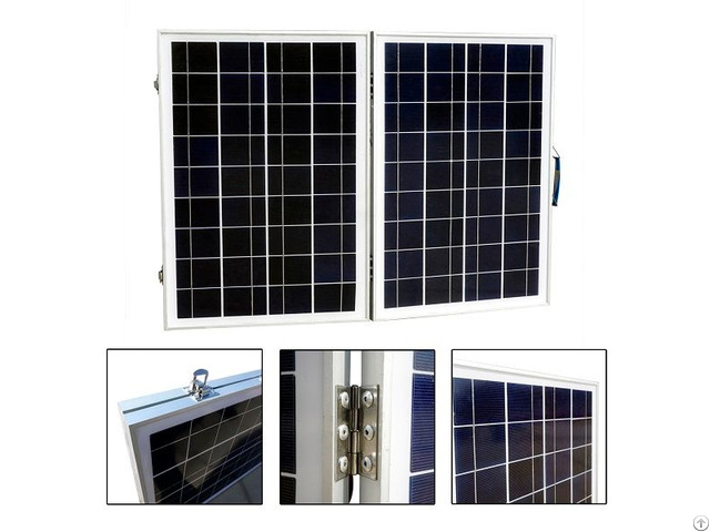 50w 12v Foldable Polycrystalline Solar Panel Module For Rv Boat