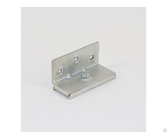 Galvanized Flat Metal Single Side Stamping Brackets Hl 021