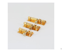 Golden Plated Door Lock Tower Bolt Hl 027