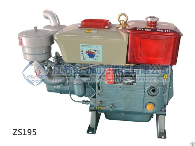 Zs195 High Efficiency Reliable Operation Diesel Engine Machinery