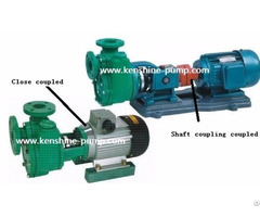 Fpz Self Priming Plastic Chemical Industry Pump