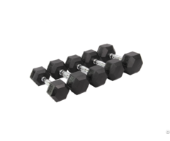 Wholesale Hex Rubber Dumbbell