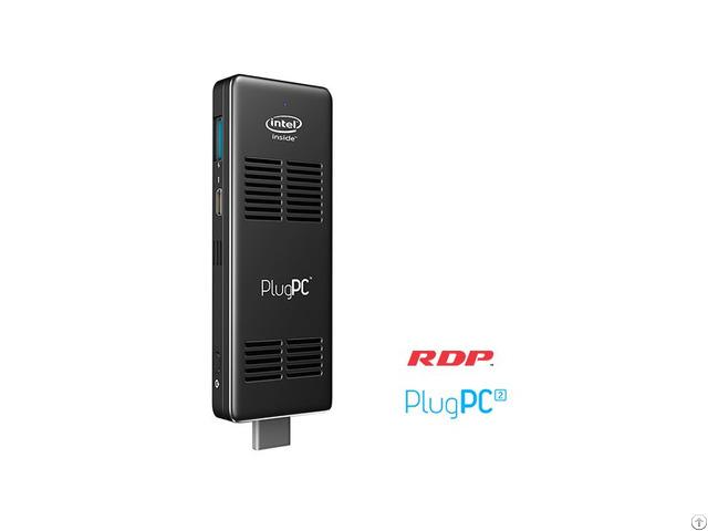 Plugpc 2 Compute Stick Intel Atom Quad Core X5 1 84 Ghz 2gb Ram 32gb Storage