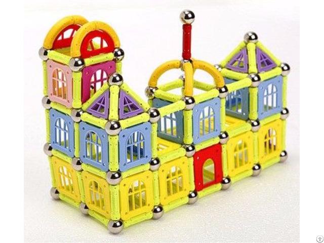 Different Combination Square Plastic Magnetic Building Block Toys