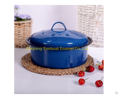 Cast Iron Enamel Stock Pot