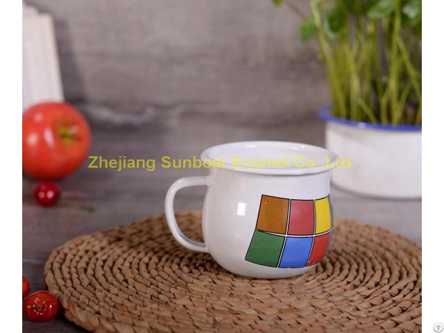 Good Quality Enamel Milk Cup