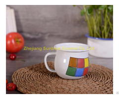 Good Quality Enamel Milk Cup