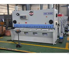 Hoston Hydraulic Swing Beam Shearing Machine Hbs Qc12y