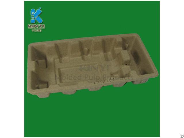 Colorful Biodegradable Sugarcane Molded Fiber Pulp Electronics Inner Packaging