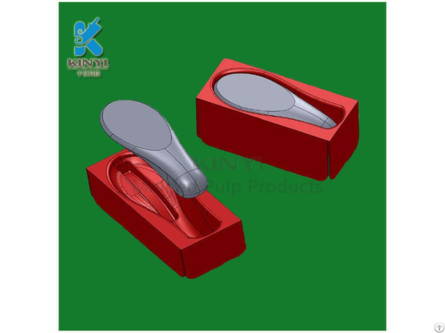 Custome Newest Disposable Styrofoam Packaging Pulp Molded Tray For Mouse