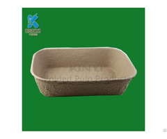 Biodegradable Pulp Molded Cat Litter Trays