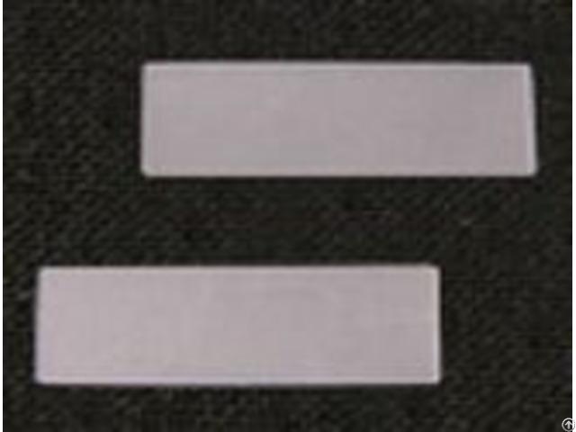 Rectangular Quartz Crystal Plate