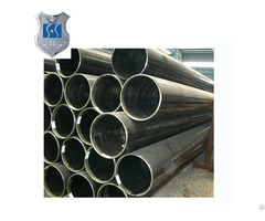 Welding Black Erw Steel Pipe With Certification