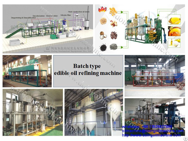 10tpd Small Scale Palm Oil Refining Plant