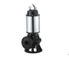 Jpwq Automaticall Homogenizing Submersible Sewage Pump