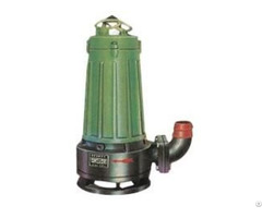Wqk Submersible Sewage Pump With Cutting Device