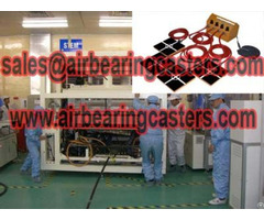 Air Casters Load Moving Equipment Pneumatic Device