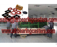 Air Pads For Moving Equipment