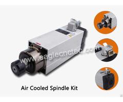 Air Cooled Spindle 3 5kw Er25 18000rpm 380v And 220v For Sale