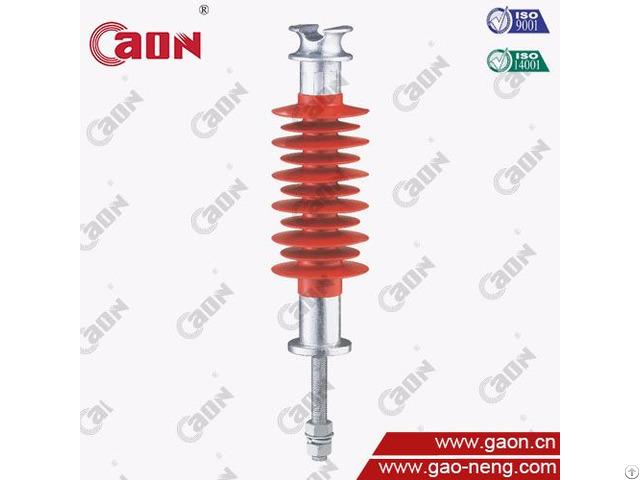 High Voltage Overhead Transmission Line 33kv Composite Polymer Pin Insulator