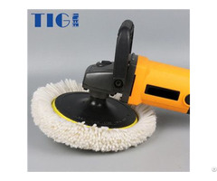 180mm 200mm Single Side Wool Polishing Buffing Auto Surface Maintenance Clean Pad For Car And Glass