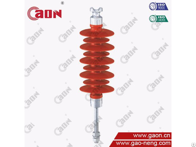 High Voltage 35kv Pin Type Composite Silicone Rubber Insulator