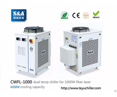 Sa Refrigeration Water Chiller Cwfl 1000 With Dual Waterways