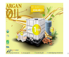 Certified Organic Bulk Argan Oil From Morocco