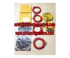Air Pads For Moving Equipment Carry Heavy Machine