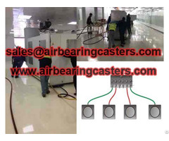 Air Caster Rigging System Transport Tools