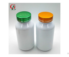 Food Grade Pet 200 Cc Pill Container With Screw Cap