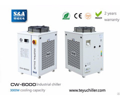 Sa Recirculating Water Cooled Chiller Cw 6000 With±0 5℃stability