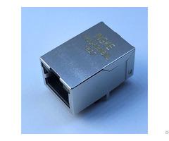 We 7499010214 Ykju 8060bnl 10 100 Base Tx 1 Port Through Hole Rj45 Magnetic Jack Connectors Tab Up