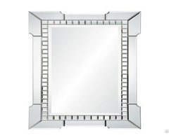 Rectangular Arrow Decorative Wall Mirror For Livingroom Bathroom Dining Room